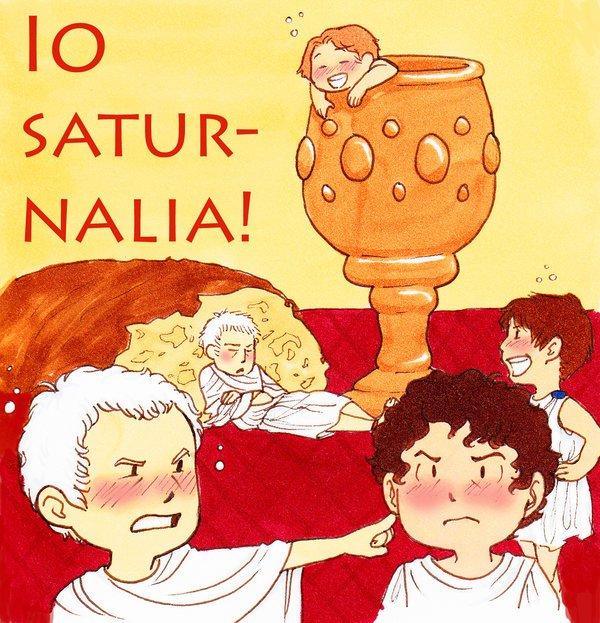 Les Saturnales, le Noël païen ?