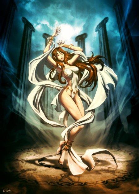 La pythie, l'interprète du dieu Apollon