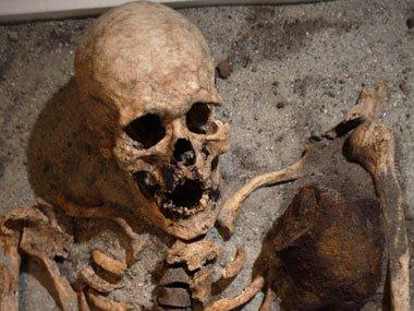 Le vampire de Southwell, la découverte d'un squelette aux méthodes d'enterrement anormales