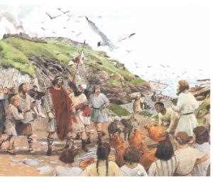 La forteresse de Tintagel aurait-elle pu être la cour arthurienne ?