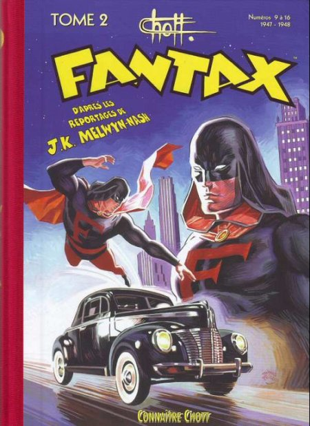 Fantax, le premier super héros français