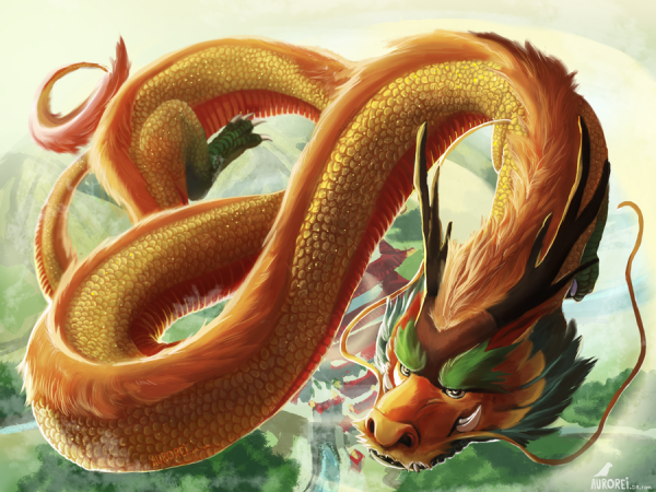 D'où vient la croyance des dragons en Chine ?