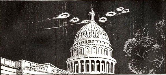 """Le """"carrousel de Washington"""" de 1952 : une invasion d'Ovnis ?"""