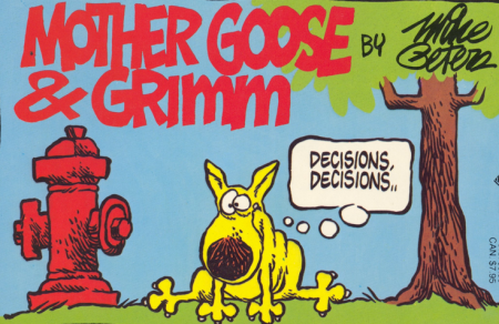 Grimmy, un comic strip à l'humour ravageur