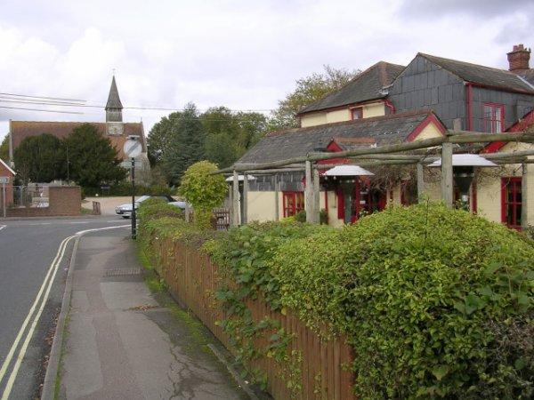 Un site possible pour la bataille de Natanleag : Netley Marsh