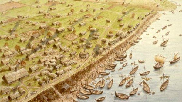 La situation de Londres face à l'avancée saxonne