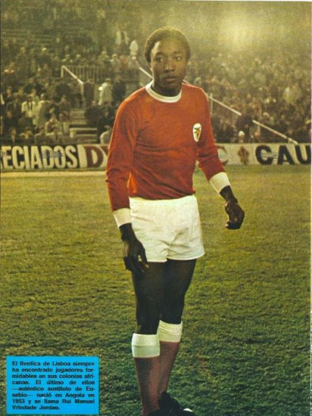 Rui Jordão, la Perle noire du football qui a su se faire une carrière dans les arts