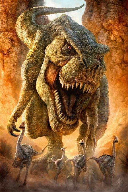 Le Tyrannosaure rex : il faut se démarquer des idées reçues