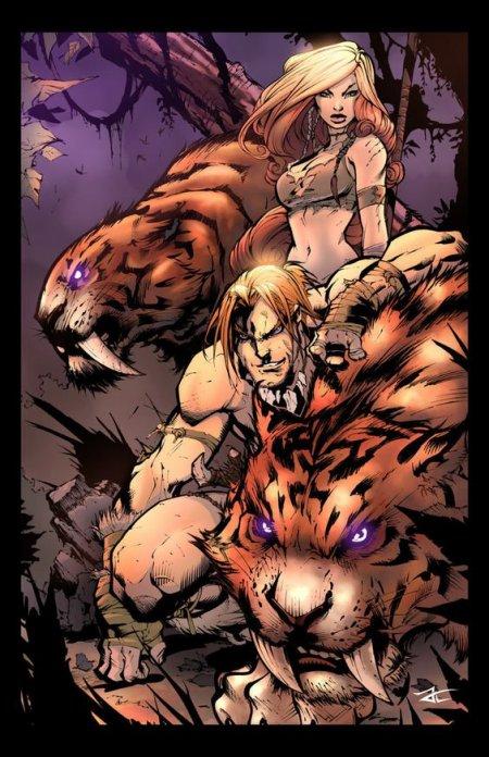 Shanna the She-Devil, une reine de la jungle très protectrice