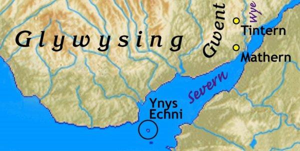 Les successeurs de St Tewdrig, continuateurs des lignages du Gwent et de l'Ergyng