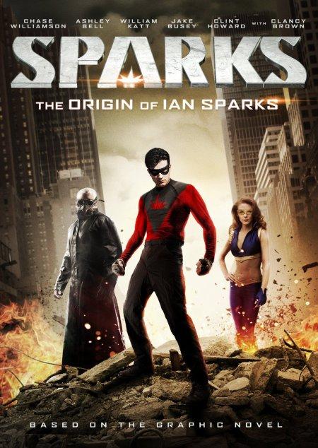 Sparks : un comics de super héros aux ambiances de film noir