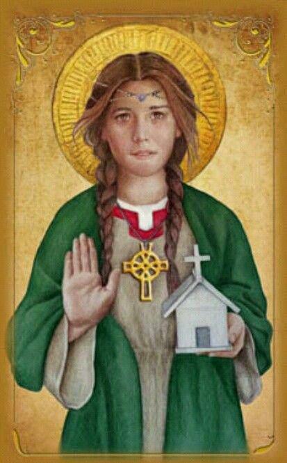 Dwynwen, une galloise consacré à Dieu suite à une déconvenue amoureuse