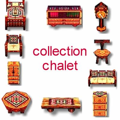 collection chalet les meubles du jeu animal crossing wild world. Black Bedroom Furniture Sets. Home Design Ideas