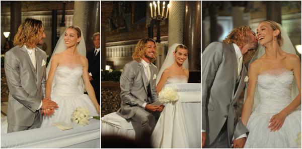 ELEONORA SE MARIE ! Les premi�res photos de son mariage avec Frederico Balzaretti !