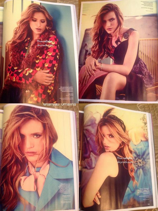 Bella a pos pour le magazine instyle russia d couvrez les scans du magazine - Que pensez vous du credit foncier ...