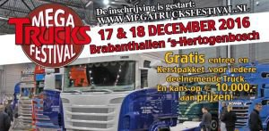 ça y est en route pour le mégatruck festival à s'hertogenbosch en pays hollandais... avec au alentours de 400 camions et probablement de belles surprises pour cette fin 2016...