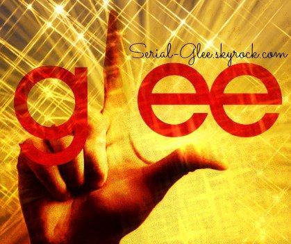 Mon blog sur ma série préféré : Glee ♥