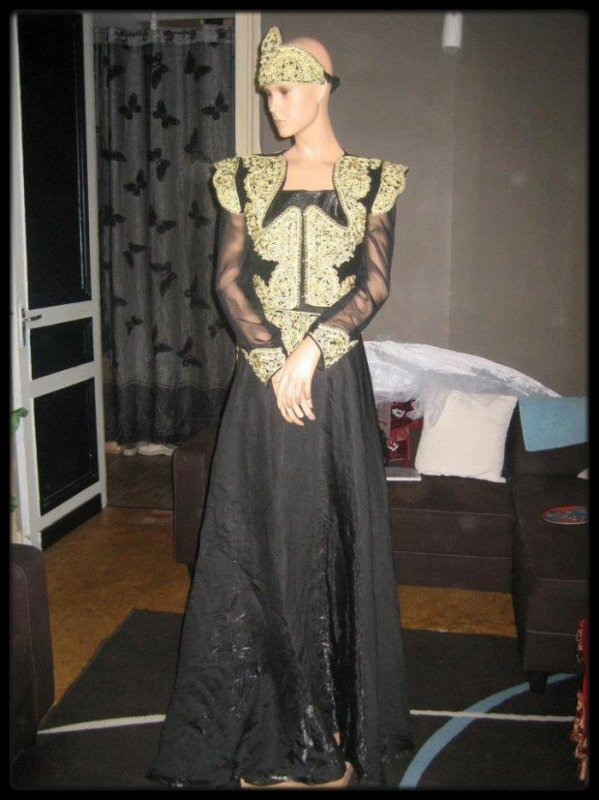 Robe traditionelle: Karakou ou robe constantinoise. - Dress' or Location Roubaix