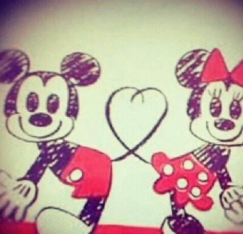 Mickey et minni blog de info swag - Dessin mickey swag ...