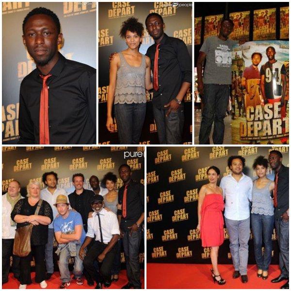 Le 5 juillet 2011, Thomas et toute l'équipe de Case départ avaient rendez-vous à Paris pour l'avant première du film.