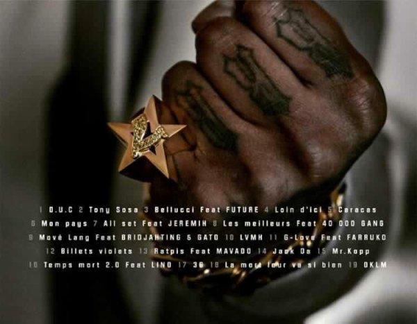 Tracklist D.U.C