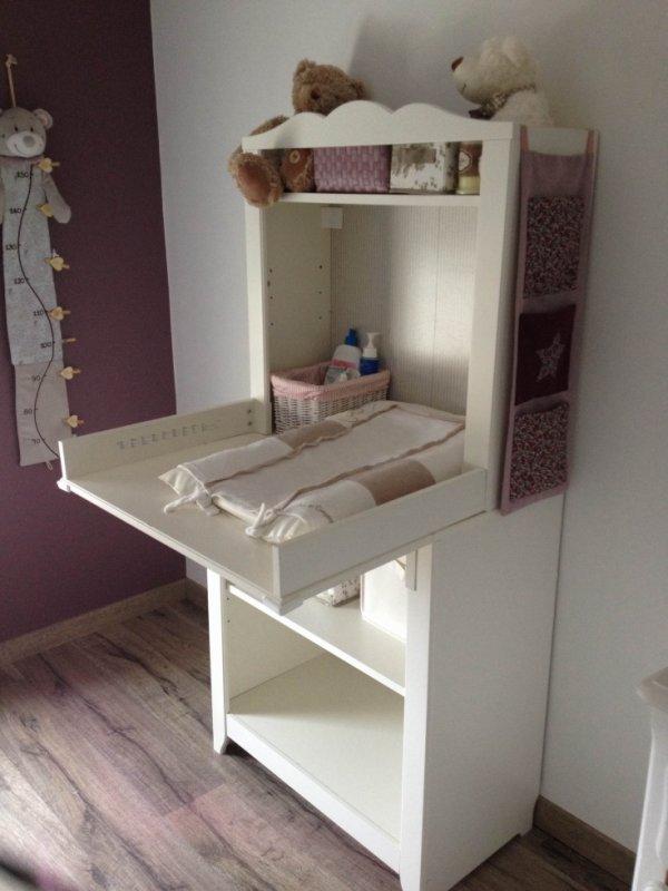 Vendu meuble et table langer 100 euros blog de lyia974 - Table a langer meuble ...