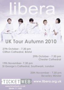 LIBERA UK TOUR 2010