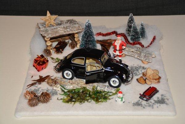 Mes Diorama VW de Noel