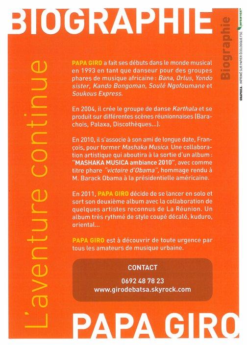 Biographie et contact de papa giro !!!!!  L'aventure contunue !!!!!!!!!!!!!!!