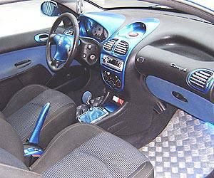 Interieur 206 cc 206 tuning et autre photo for Interieur 206