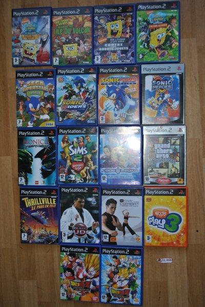 mes jeux et consoles