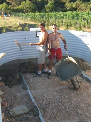 Construction d 39 une piscine waterair cheun11 construction for Construction piscine waterair