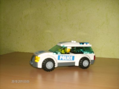 la voiture de police lego city ok legoman du 1980. Black Bedroom Furniture Sets. Home Design Ideas