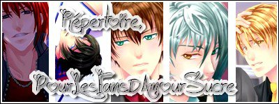 Bienvenue sur ce blog réservé aux fans d'Amour Sucré!!! ^^