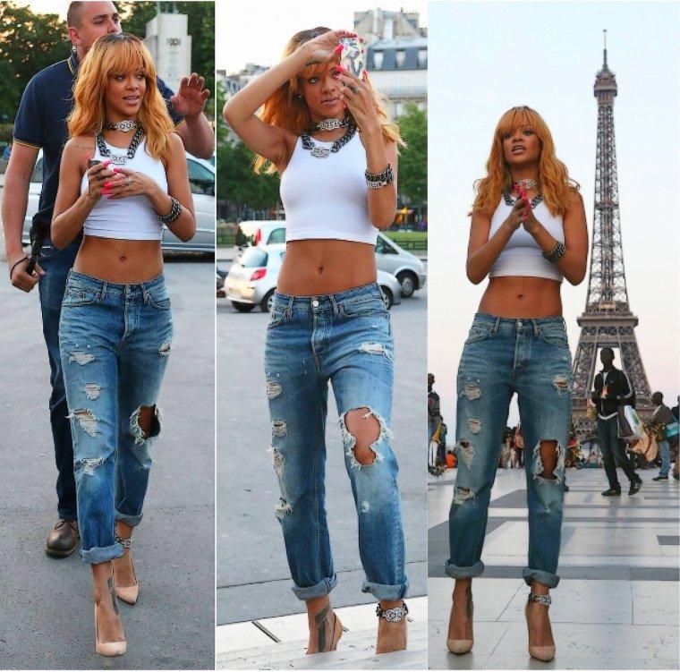 Rihanna � Paris !