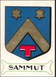 Le Blason de la famille SAMMUT