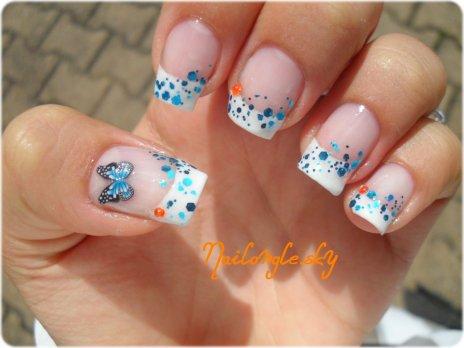 Nail art ongles & pieds avant les vacances!! - Mes Idées Nail Art =)