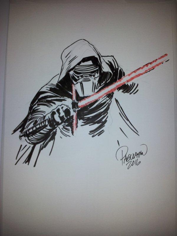 Carlo Pagulayan dessinateur (Kylo ren Star Wars)