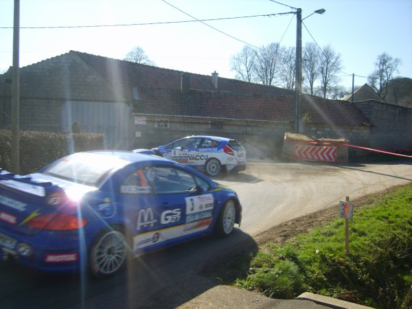 Course poursuite au rallye du touquet 2011