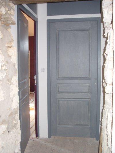 Portes interieures r novation de notre maison for Peindre des portes