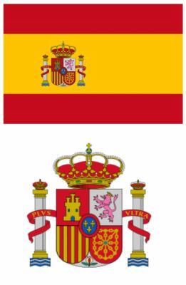 couleurs du drapeau de l espagne
