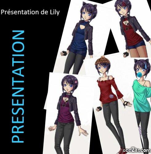 Pr�sentation de Lily