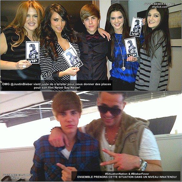 .  14.01.11 - Justin se rend presque incognito aux Critics' Choice Movie Awards + News en vrac. .