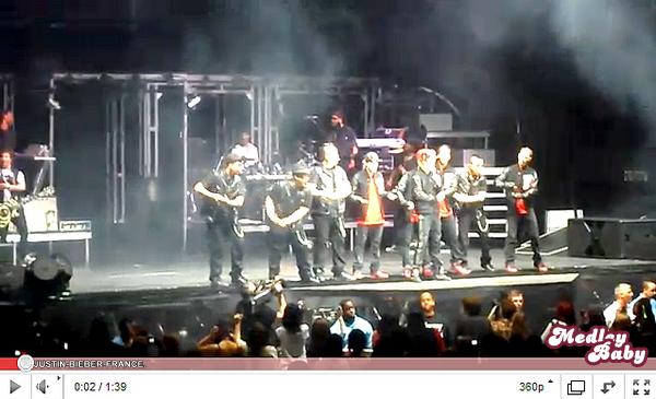 .  14.03 - Justin invite Craig David pour son show à Londres & Medley Baby. .