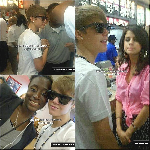 .  Photos diverses - Justin et Selena à NYC. .