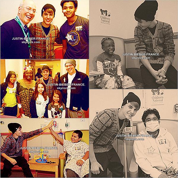 .  10.11 Justin se rend dans un hopital à Washington DC + This Is Justin Bieber + NEWS. .