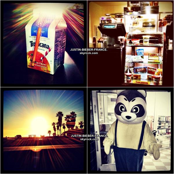 .  04.01. Justin à Los Angeles avec Jeremy Bieber et Ryan Butler .