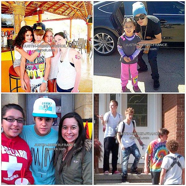 .  18.02 - A Malibu avec Selena et sa famille + Video Call Me Maybe. .