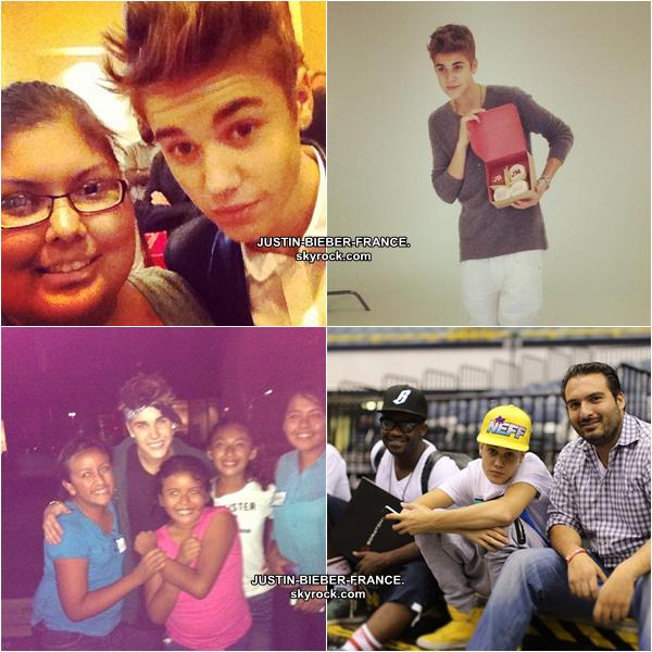 ".  24/09 - Interview ""Key103"" + Justin à l'avant première "" Hotel Transylvania "" + Instagram + Justin avec ses fans + ""Dancing with the Stars "". ."