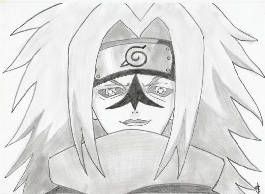 Sasuke avec le sceau maudit d 39 orochimaru mes dessins mangas - Comment dessiner sasuke ...